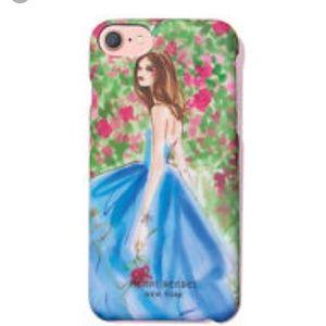 Henri bendel flower phone case iPhone 6/7 new